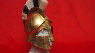 Classic greek helmet