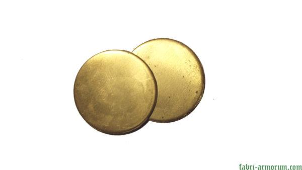 Brass blank coin