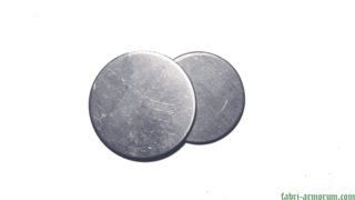 aluminium blank coin