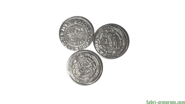 silver coin 25 mm