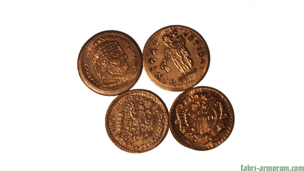 copper coin 25 mm