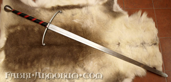 Gothic two handed sword
