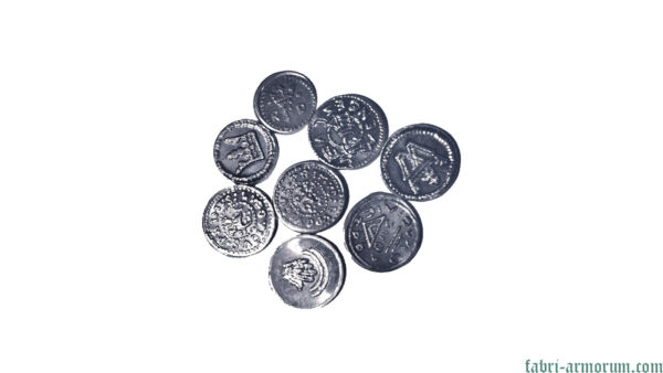 Aluminium Coin 15 mm