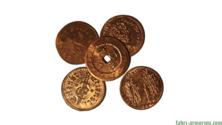 Copper Coin 30 mm