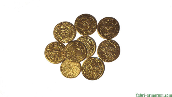 Gold coin 20 mm